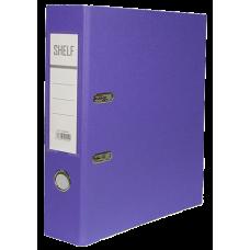 Папка-регистратор 75мм фиолетовый TC-554-S
