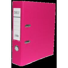 Папка-регистратор 75мм 007 розовый TC-554-S