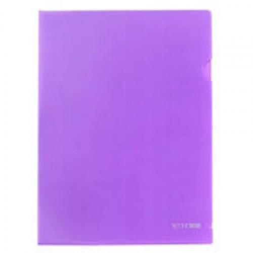 Папка-уголок пластиковая А4ф HATBER 180мкм
