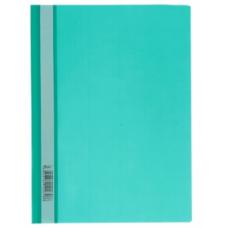 Папка скоросшиватель A4 Hatber 140/180 мкм зеленая AS4_00104