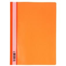 Папка скоросшиватель A4 Hatber 140/180 мкм оранжевая AS4_00116