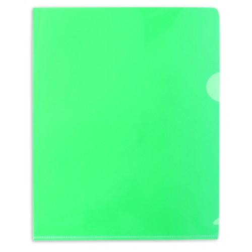 Папка-уголок пластиковая А5ф HATBER 180мкм