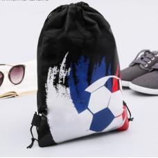 """Мешок для обуви н/полотно мал """"Футбол"""", 26 х 37,5 см"""