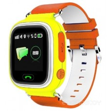 Умные часы Smart Baby Watch Q80 (Yellow-Orange)