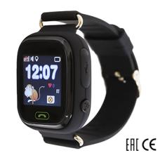 Детские Часы SmartBabyWatch Q80 (Черные)