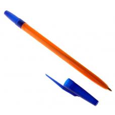 Ручка шариковая Стамм 511 синий стержень ORANGE