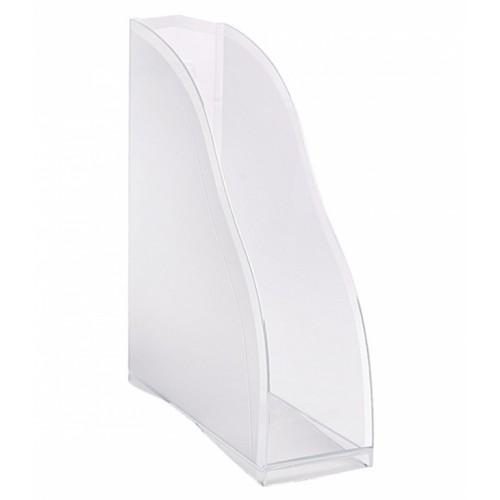 Лоток для бумаг КОСМОС, вертикальный, прозрачный СТАММ