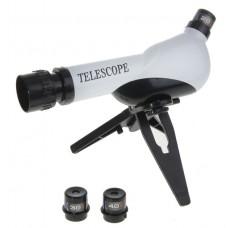 Телескоп х3, 3 линзы сменные х20,х30,х40, настольный 19*29см 127590