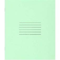 Тетрадь школьная А5, 24 л., линия, зеленая