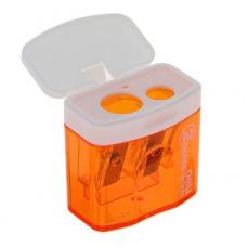Точилка для карандашей двойная с контейнером DELI 0576