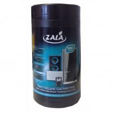 Чистящие универсальные салфетки ZALA в тубе (арт. ZL77400)